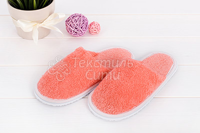 Фото тапочек из цветной махры