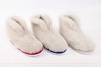 Чуни на пластиковой подошке