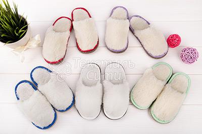 детские тапочки из натурального овечьего меха