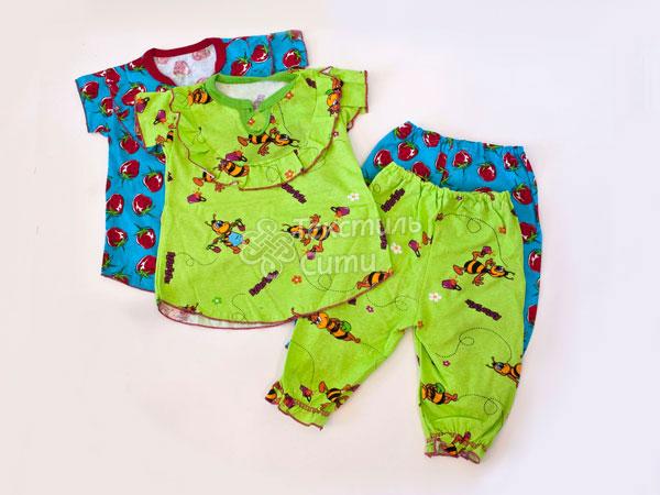 Из чего сшить пижаму для ребенка 113