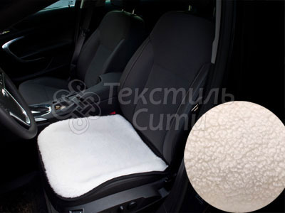 Меховая накидка на авто